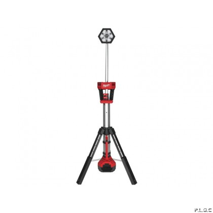 Milwaukee M18SAL Trueview 18V LED Stand Light. LED Tower Light With 2000 lumens Light , Extended to 2,2 meter high. 3 Mode